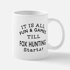 Fox Hunting Fun And Games Designs Mug
