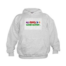 My Daddy Is A Social Worker (PRIMARY) Hoodie