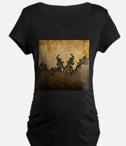 Beatiful dark vintage art Maternity T-Shirt