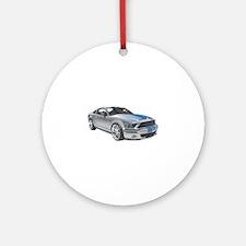 Bentley Continental car Round Ornament