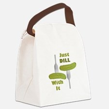 Dill With It Canvas Lunch Bag