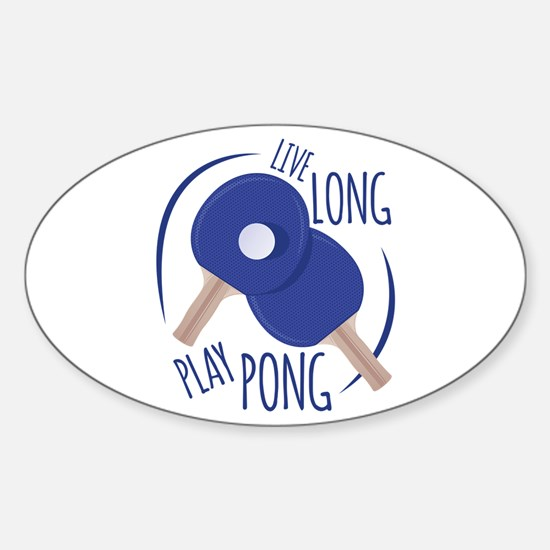 Play Pong Decal