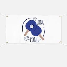 Play Pong Banner