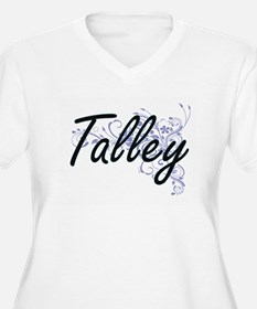 Talley surname artistic design w Plus Size T-Shirt