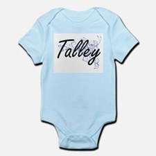Talley surname artistic design with Flow Body Suit