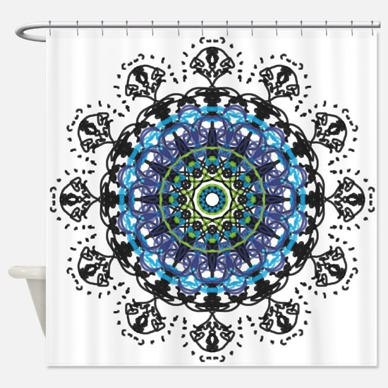 Unique Dandelion wishes Shower Curtain