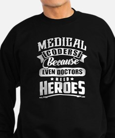 Medical Coders Sweatshirt (dark)