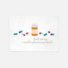 Pharmacy School 5'x7'Area Rug