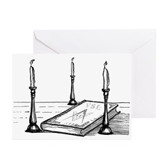 The 3 Lesser Lights Greeting Cards (Pk of 20)