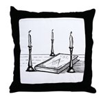 The 3 Lesser Lights Throw Pillow