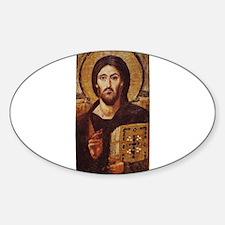 Jesus Christ Pantocrator Christian Icon Decal