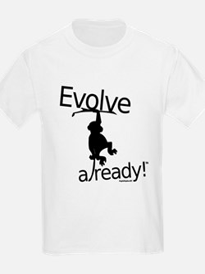 Evolve already Monkey T-Shirt