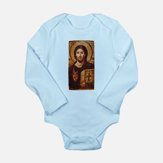Jesus Christ Pantocrator Christian Icon Body Suit