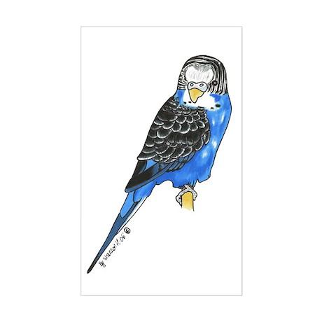 Marty Bird Rectangle Sticker