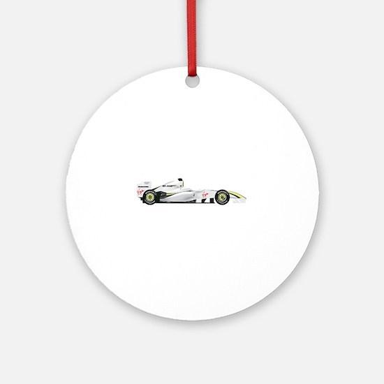 Brawn GP Mercedes Round Ornament