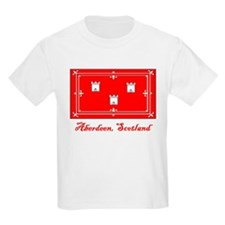 Aberdeen Scotland Flag T-Shirt
