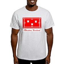 Aberdeen Scotland Flag T-Shirt