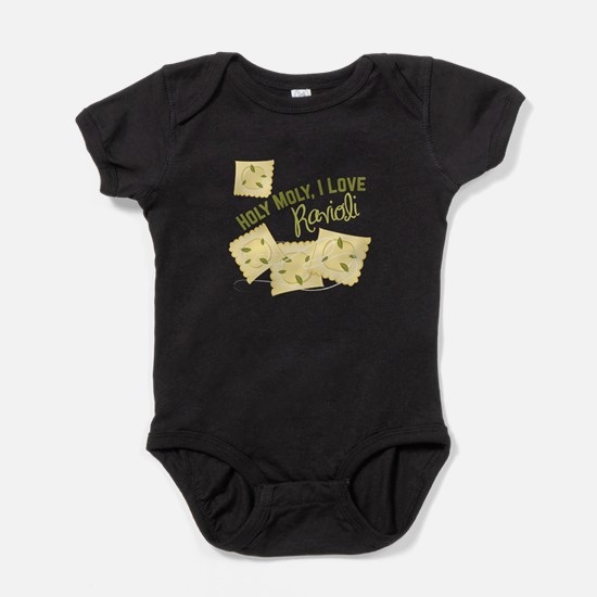 I Love Ravioli Baby Bodysuit