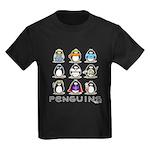 9 Penguins Kids Dark T-Shirt