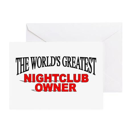 """The World's Greatest Nightclub Owner"" Greeting Ca"