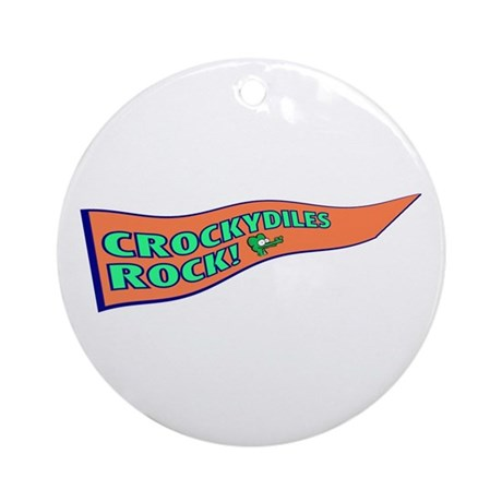 Crockydiles Rock Ornament (Round)