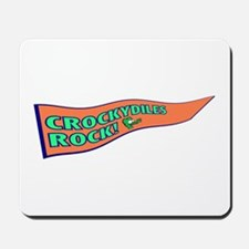 Crockydiles Rock Mousepad