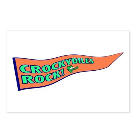 Crockydiles Rock Postcards (Package of 8)