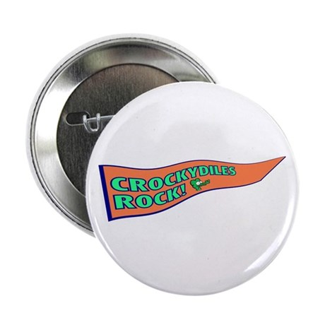 """Crockydiles Rock 2.25"""" Button (10 pack)"""
