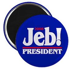 "JEB BUSH PRESIDENT 2008 2.25"" Magnet (100 pack)"