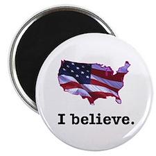 I Believe in America Magnet