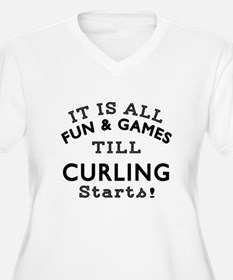 Curling Fun And G T-Shirt