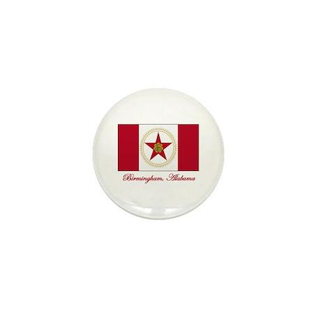 Birmingham AL Flag Mini Button (100 pack)