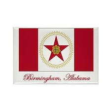 Birmingham AL Flag Rectangle Magnet