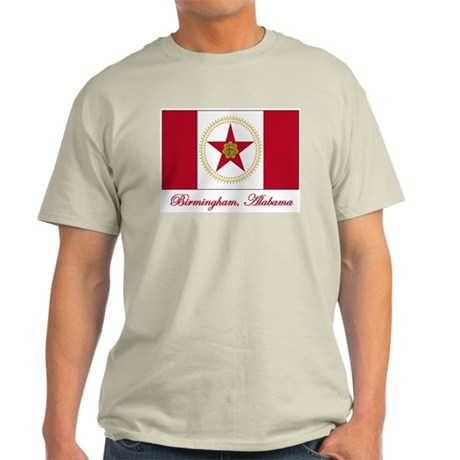 Birmingham AL Flag Light T-Shirt