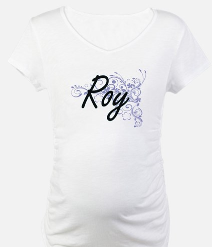 Roy surname artistic design with Shirt