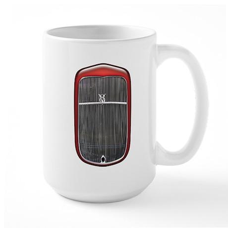 Grill-Red Large Mug
