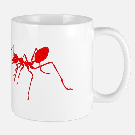 Red ant Mugs