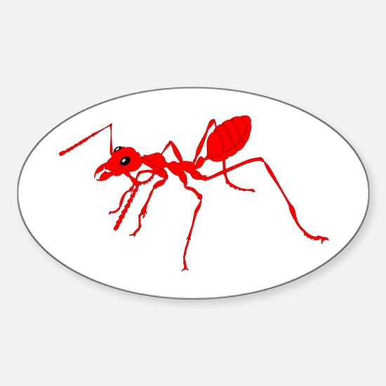 Red ant Decal