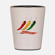 Colorful chilliprik Kee Noo Thai Shot Glass