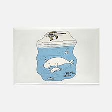 Whales Beluga Magnets