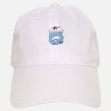 Whales Beluga Baseball Baseball Cap