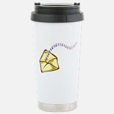 Electronic Mail Email Stainless Steel Travel Mug