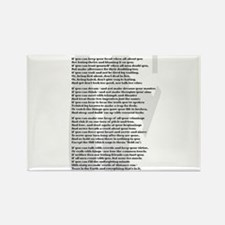 Cute Poet Rectangle Magnet (10 pack)