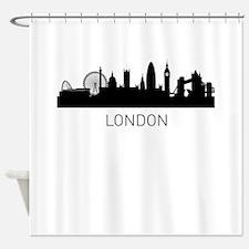 London England Cityscape Shower Curtain