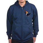 Happy Toucan Logo Hoody Zip Hoodie (dark)