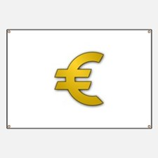 Euro Sign Banner