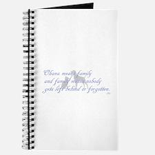 Ohana means family Journal