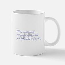 Ohana means family Mugs