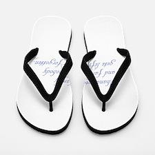 Ohana means family Flip Flops