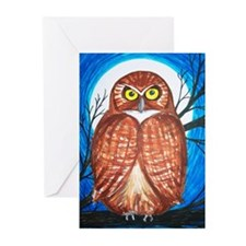 NightOwl Greeting Cards (Pk of 10)